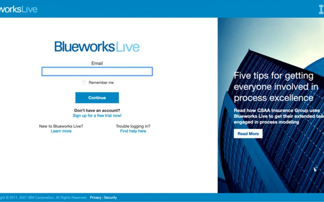 Introduction to IBM blueworks live