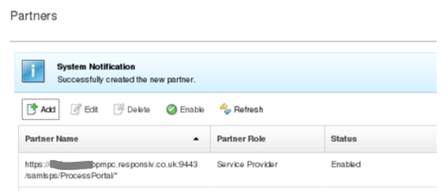 Connecting Responsiv Unity or IBM WebSphere to Azure 12