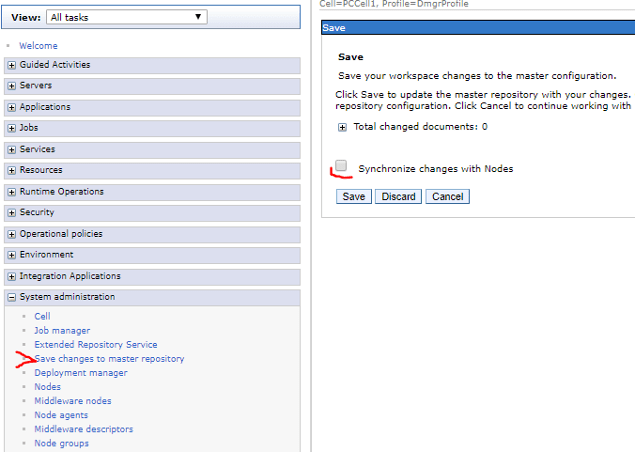 Connecting Responsiv Unity or IBM WebSphere to Azure 5