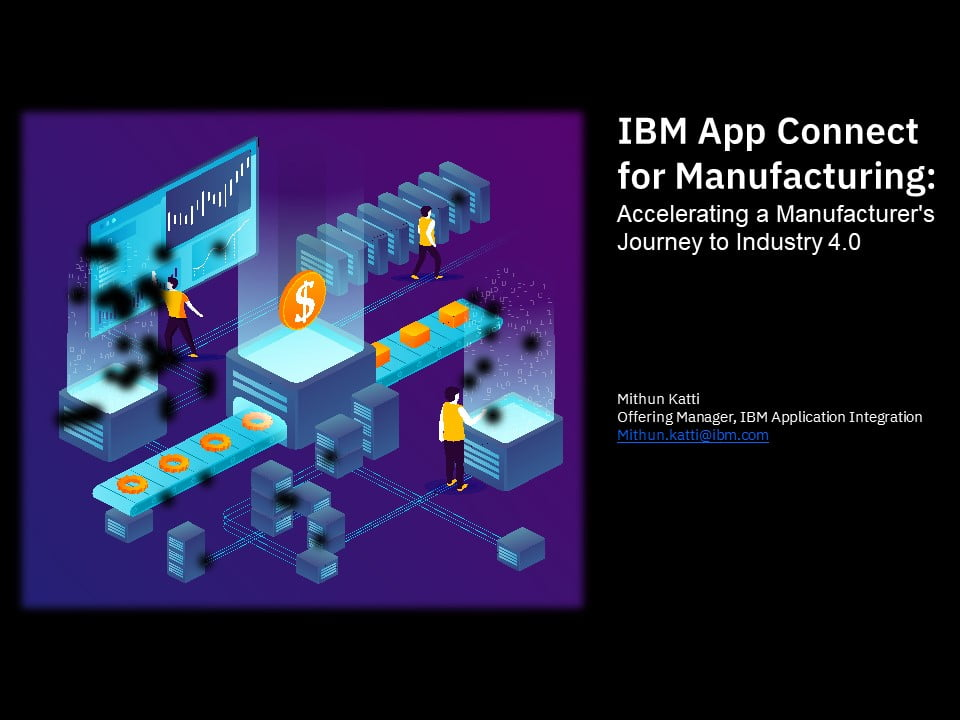 IBM App Connect for Manufacturing